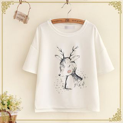 Fairyland - Short-Sleeve Print T-Shirt