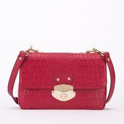 Axixi - Snakeskin Cross Bag