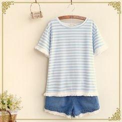 Fairyland - Stripe Short-Sleeve T-Shirt