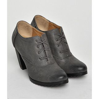 yeswalker - Lace-Up High Heel Oxfords