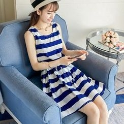 Colorful Shop - Striped Tank Dress