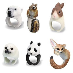 True Glam - Animal Ring