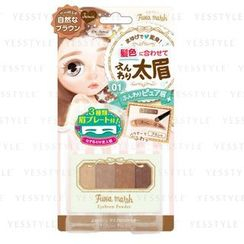 LUCKY TRENDY - BW Fuwa Mash Eyebrow Powder (Natural Brown)