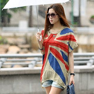 59 Seconds - Distressed Union Jack Top