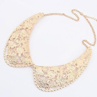Cuteberry - Perforated Collar Necklace