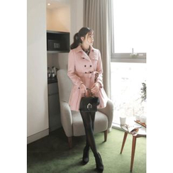 MyFiona - Double-Buttoned Flared Coatdress