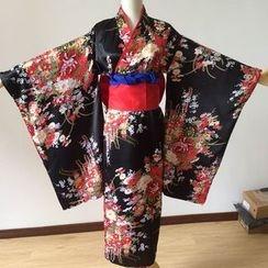 Flamo - Hell Girl Ai Enma Kimono Cosplay Costume