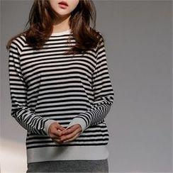 MAGJAY - Striped Knit Top