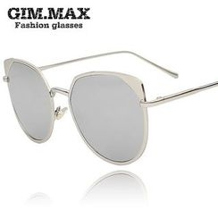 GIMMAX Glasses - Mirrored Cat Eye Sunglasses