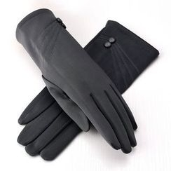 羚羊早安 - 飾釦手套