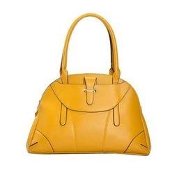 ROI - Faux-Leather Satchel