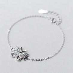 A'ROCH - 925 Sterling Silver Butterfly Bracelet