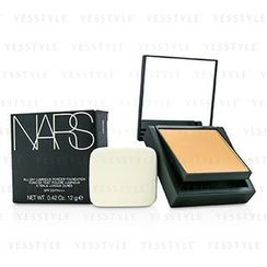 NARS - All Day Luminous Powder Foundation SPF25 - Barcelona (Medium 4 Medium with golden peachy undertones)