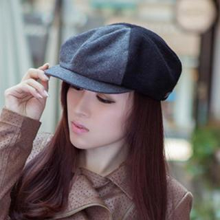 Thantrue - Wool-Blend Newsboy Hat