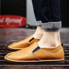 Chariot - Faux-Leather Loafers