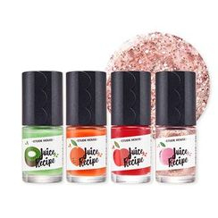Etude House - Play Nail Juice Recipe (10 Colors)