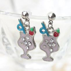 Fit-to-Kill - Cool fruit juice Earrings