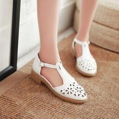 Pastel Pairs - Perforated Sandals