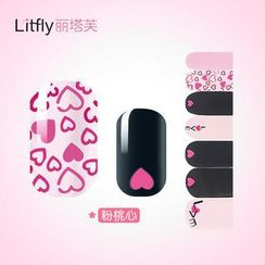 Litfly - Nail Sticker (D1009)