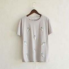 P.E.I. Girl - Embroidered T-Shirt
