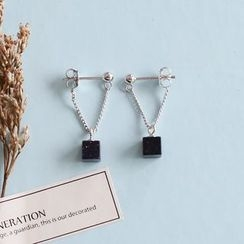 Love Generation - Cube Drop Earrings