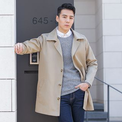 DANGOON - Notched-Lapel Single-Breasted Coat