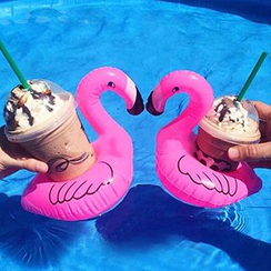 Sewwi - Flamingo Floating Drink Holder
