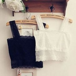 camikiss - Lace Cropped Camisole