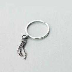 A'ROCH - 925 Sterling Silver Tasseled Ring