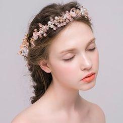 Miss Diva - Rhinetone Hairband / Hair Comb