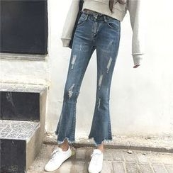 CosmoCorner - 破烂喇叭牛仔裤