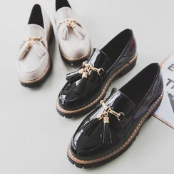 Laceuplux - Tassel Patent Loafers