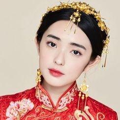 Miss Diva - 珍珠髮帶 / 髮梳 / 耳環
