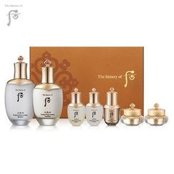 The History of Whoo 后 - Cheongidan Hwahyun Special Set: Radiant Rejuventating Balancer 150ml + 25ml + Emulsion 110ml + 25ml + Regenerating Essence 8ml + Cream 10ml + Eye Cream 5ml