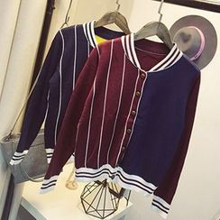 Polaris - Striped Cardigan