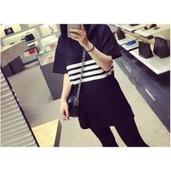 Kikiyo - Short Sleeves Striped T-shirt