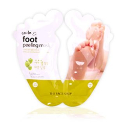 The Face Shop - Smile Foot Peeling Mask 20ml x 2pcs