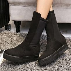 Gizmal Boots - 厚底中靴