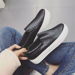 kokoin - Faux Leather Slip-Ons