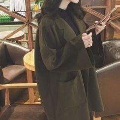 Cloud Nine - Woolen Long Coat