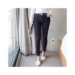 MASoeur - Distressed Skinny Pants