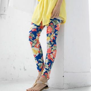 Tokyo Fashion - Floral Skinny Pants