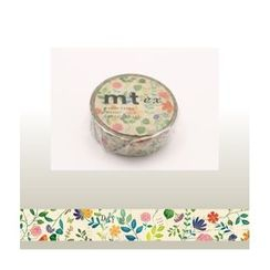 mt - mt Masking Tape : mt ex Watercolor Flower Pattern