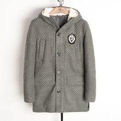 EDAO - Hooded Knit Jacket
