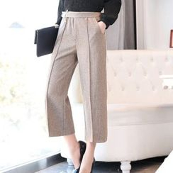 Romantica - Wide-Leg Cropped Pants