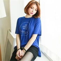 GLAM12 - Short-Sleeve Print T-Shirt