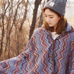 iswas - 'Nordic Island' Series Hooded Blanket