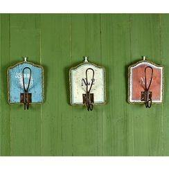 Retro Times - Wooden Wall Hook