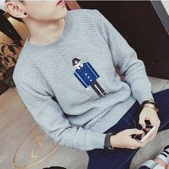 ZZP HOMME - Embroidered Sweater