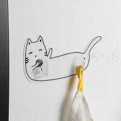 Miss Buchen - Cat-Print Wall Hook